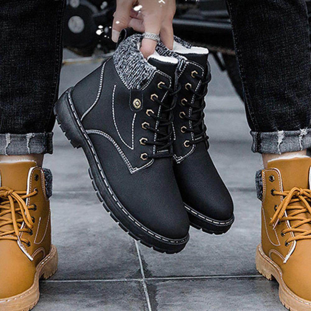 겨울신발 워커화 방한화 모카신 겨울로퍼 털로퍼 AL527 겨울신발 털신 남자겨울신발 방한화 모카신