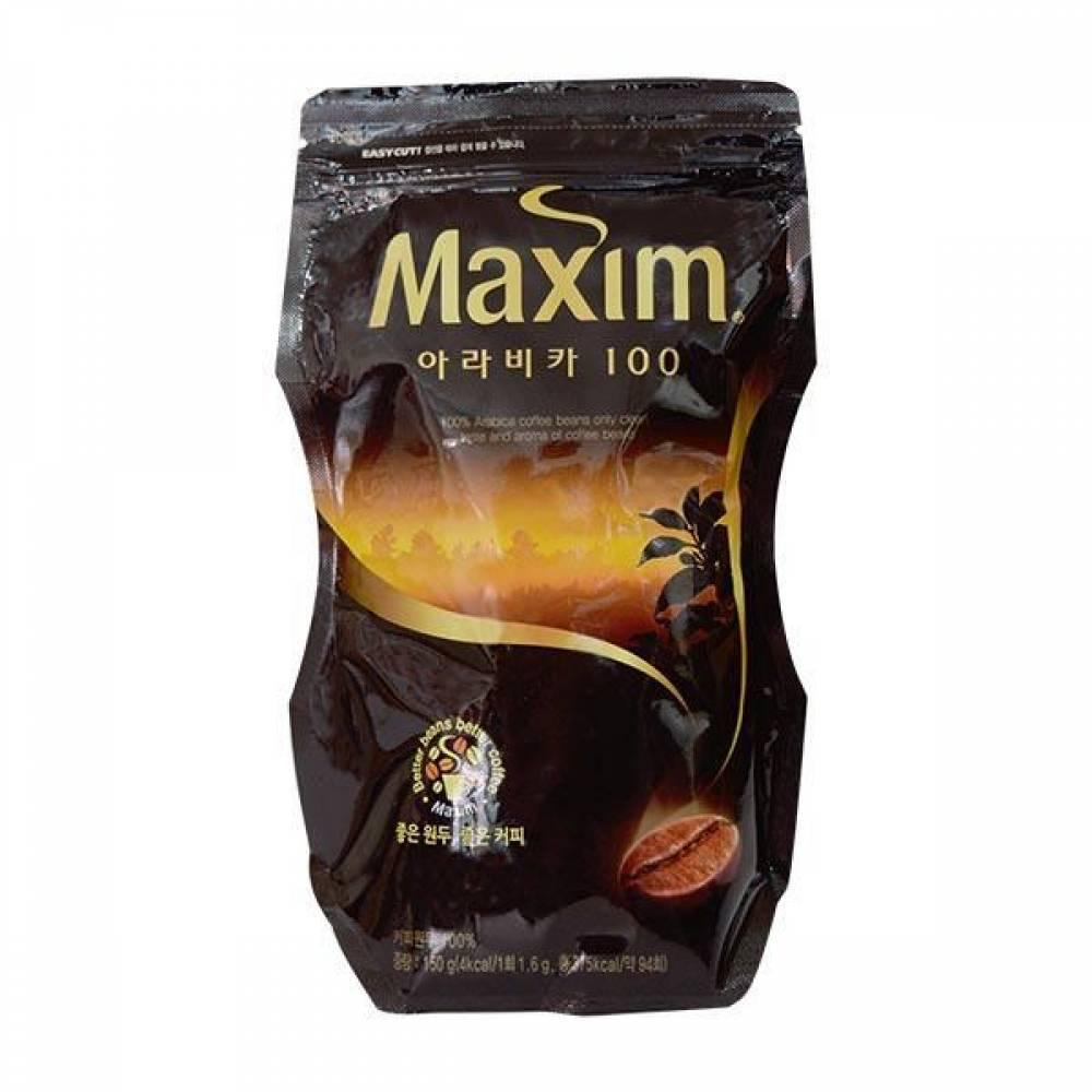 맥심 아라비카100 150g 커피 커피믹스 동서식품 맥심 가공식품