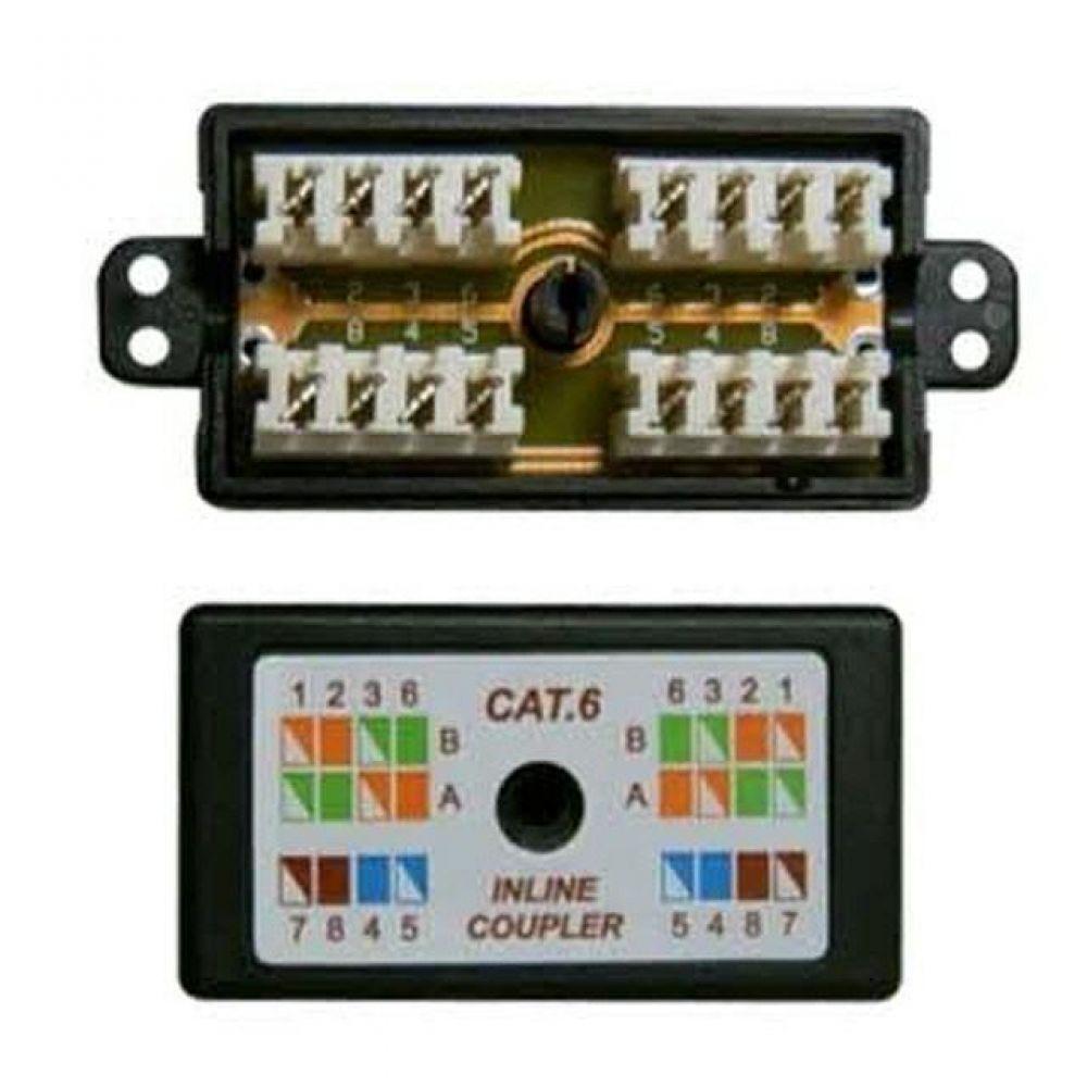 L CAT.6 Inline커플러 RJ-45 컴퓨터용품 PC용품 컴퓨터악세사리 컴퓨터주변용품 네트워크용품 랜선 인터넷케이블 기가랜선 utp케이블 공유기 hdmi케이블 랜커플러 lan케이블 랜커넥터 평면랜케이블