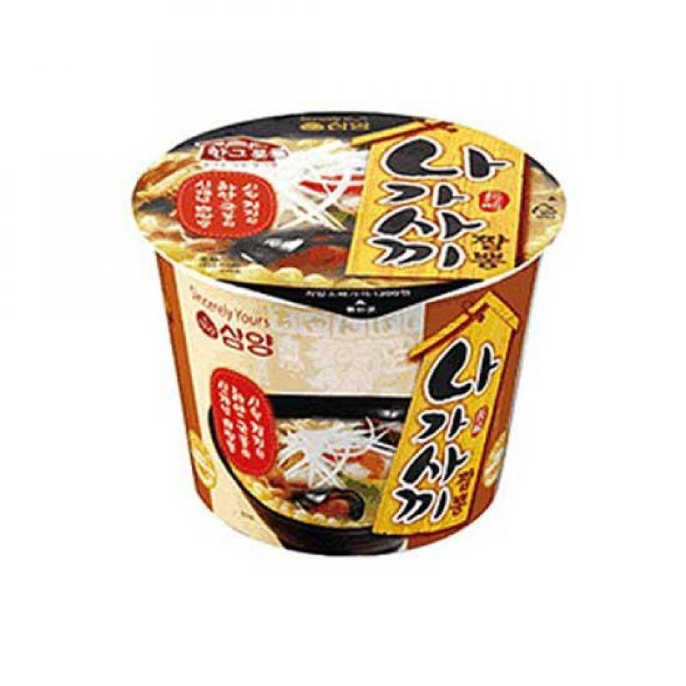 (컵라면)삼양 나가사끼 짬뽕 큰컵x16개 믿을 수 있는 정품 정량 라면 사발면 컵라면 라면도매 나가사끼짬뽕