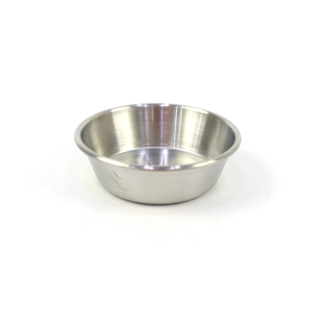 진주 종지 5호접시 식기 종지 마늘종지 소스그릇 종지그릇 간장그릇 스텐그릇 스텐종지 스텐종지 접시 식기 종지 마늘종지 소스그릇