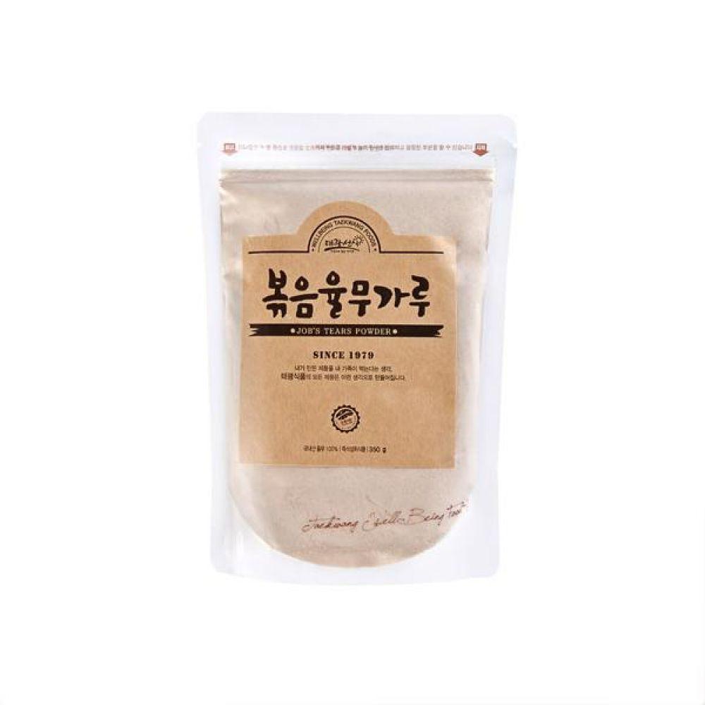 볶음 율무가루 350g 국내산 율무로만 만든 바른 먹거리 건강 곡물 간편식 잡곡 한끼