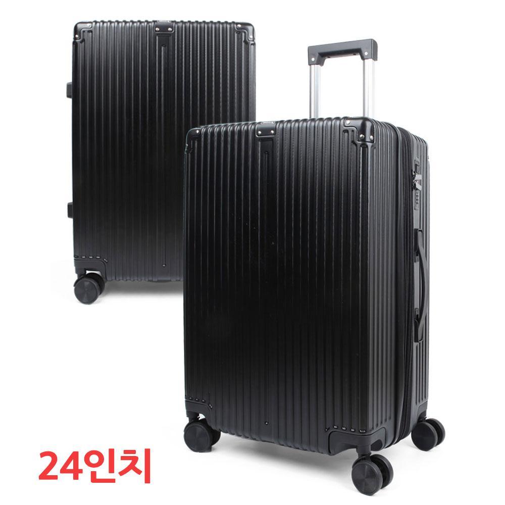 블랙 24형 가벼운 제노바 여행용 캐리어 수화물 가방 화물용캐리어 화물용케리어 캐리어 케리어 여행용캐리어