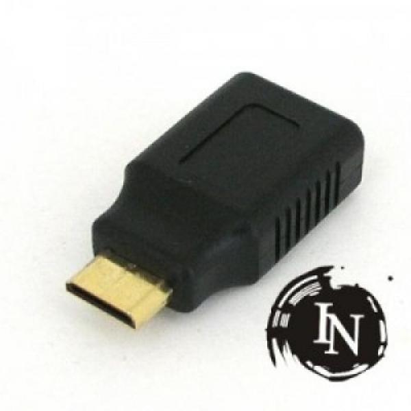몽동닷컴 IN-MINI(M)HDMI(F) 미니 HDMI젠더 미니HDMI 수 HDMI 암 미니 HDMI MINI TO 젠더