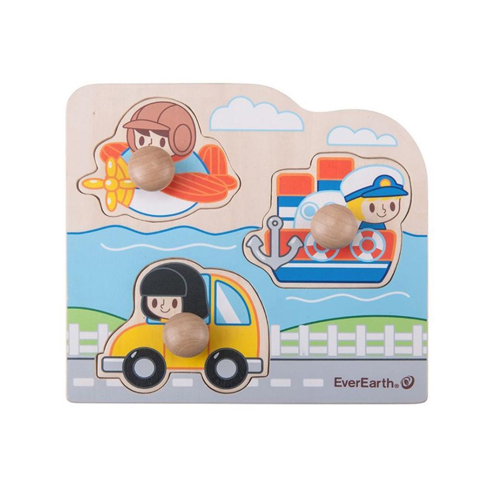 탈것 장난감 어린이 교육 놀이 완구 점보 꼭지 퍼즐 유아원 장난감 2살장난감 3살장난감 4살장난감