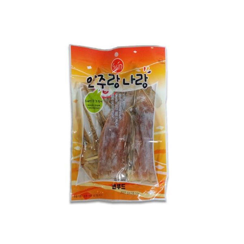 썬푸드) 동해안 특오징어 70g x 10개 술안주나 아이들 영양간식으로도 일품 간식 마른 안주 자반 안주도매