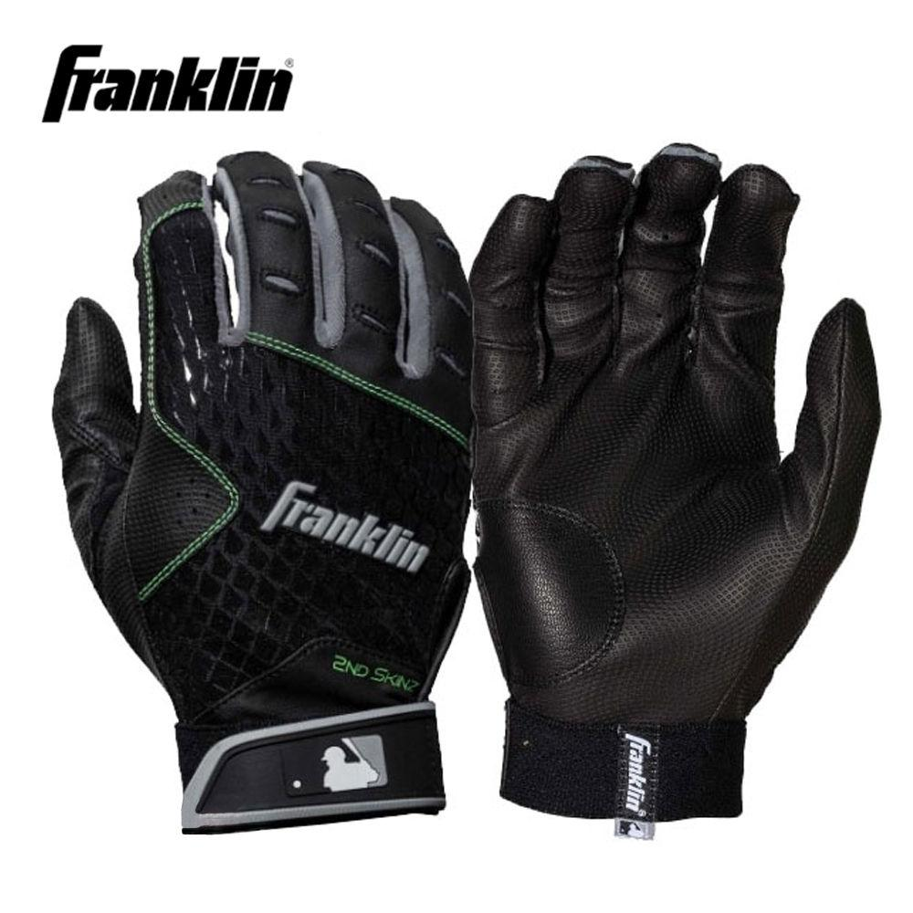 프랭클린 2ND SKINZ 배팅장갑 (블랙) (택1) 야구장갑 배팅장갑 야구배팅장갑 야구 야구글러브