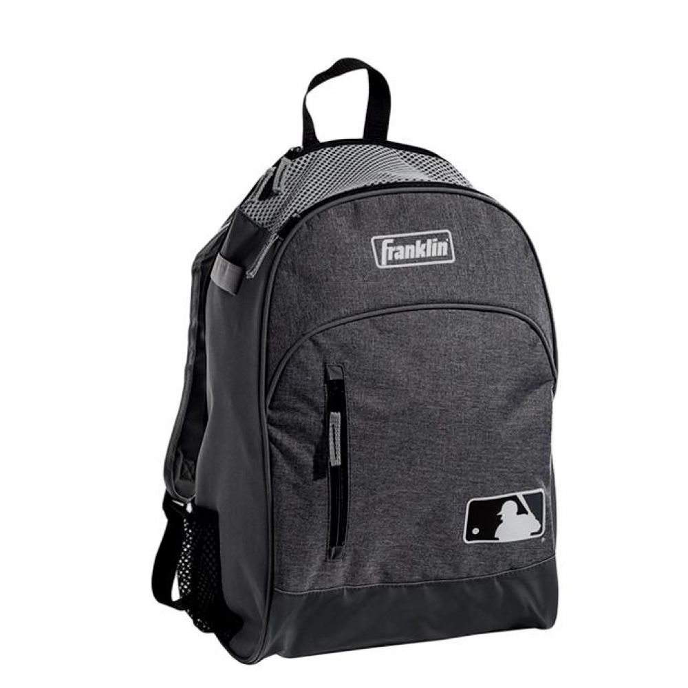 프랭클린 유소년 MLB 배트백팩 그레이블랙 야구가방 야구가방 야구장비가방 유소년야구백팩 야구백팩 야구배트백팩