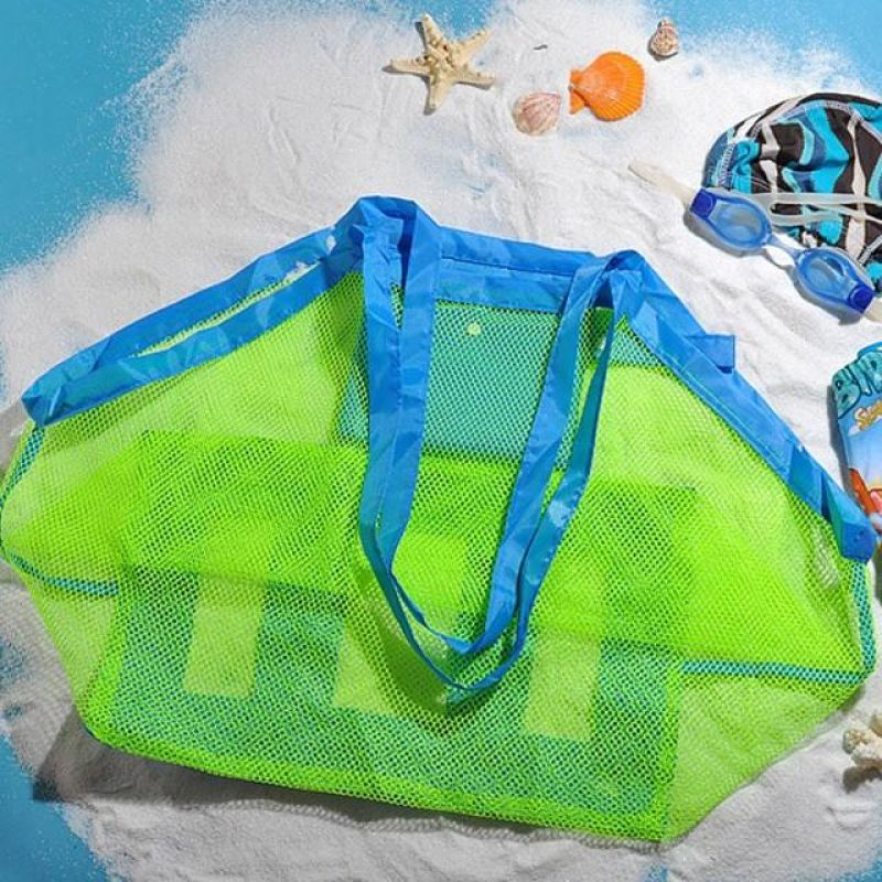 MWSHOP 여행용 해변 비치백 장난감 물놀이가방 엠더블유샵