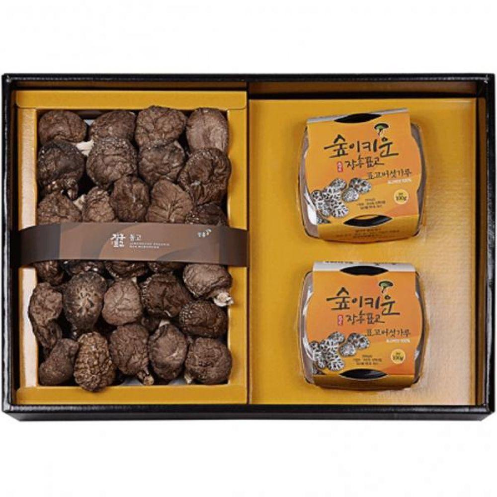 표고분말혼합2호 (동고190g 표고버섯가루100g2) 식품 농산물 채소 표고버섯 선물세트