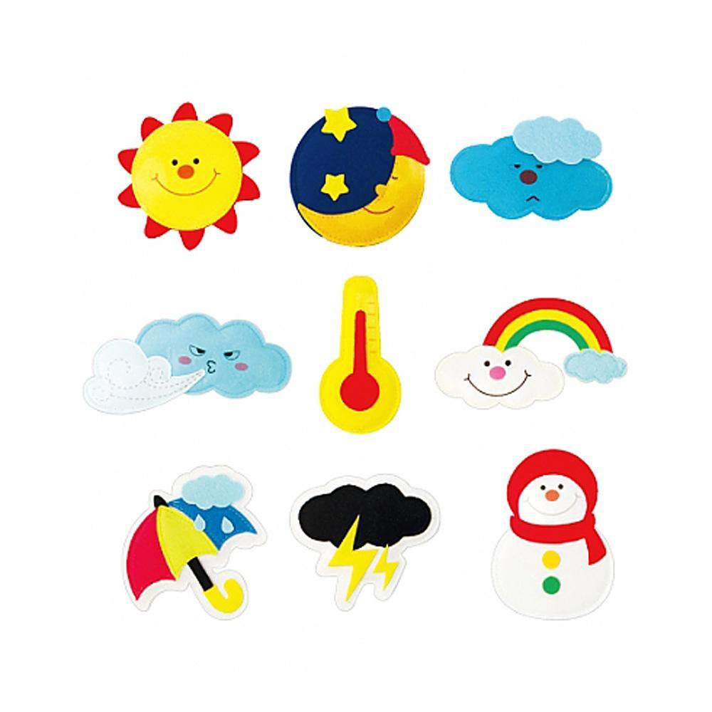 선물 어린이 유아 찍찍이 교육 교구 모형 날씨 조카 2살장난감 3살장난감 4살장난감 아이놀이 어린이선물