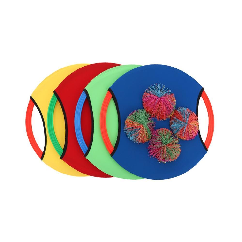 공놀이 아동 스포츠 팡팡 디스크 모양 라켓 세트 초등학교 장난감 2살장난감 3살장난감 4살장난감