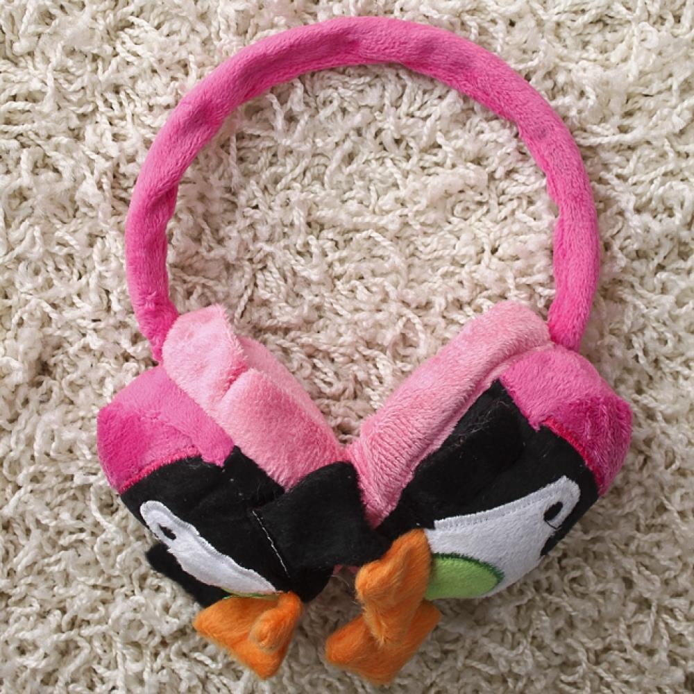 펭귄 귀마개 깜찍이 팬시귀마개 일반형귀마개 귀덮개 방한용품 복슬이귀마개 털귀마개 귀덮개 일반형귀마개