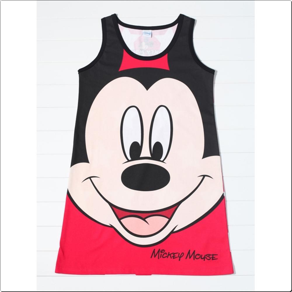 (디즈니) 미키마우스 나시 원피스 (별)(DQV-0051) 캐릭터 캐릭터상품 생활잡화 잡화 유아용품