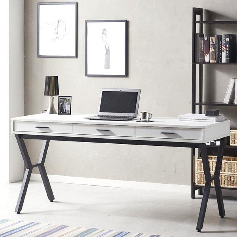스토리홈 심플 수납 테이블 1600 책상세트 컴퓨터책상 독서실책상 학생책상 사무용책상
