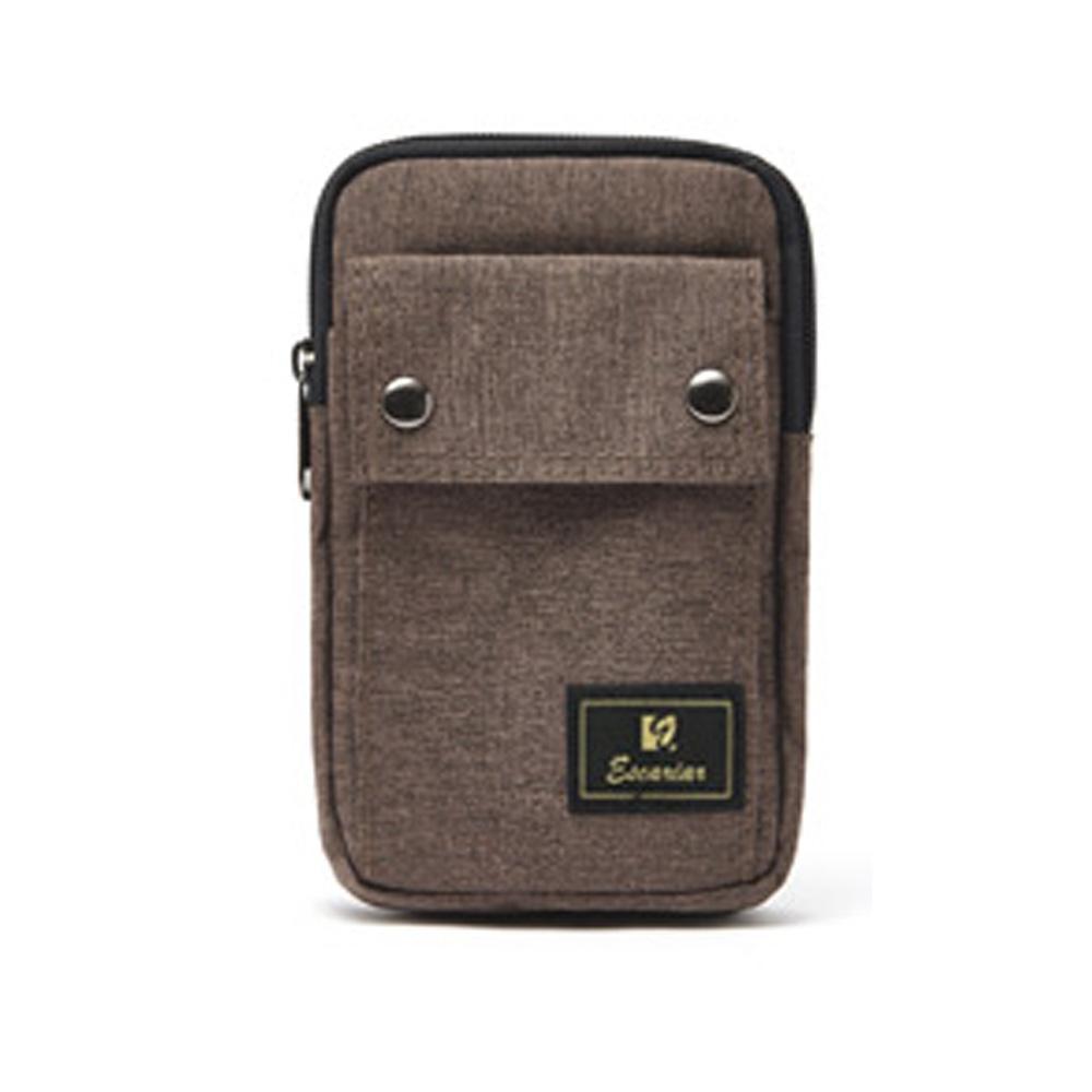 브라운 미니 핸드폰 수납 크로스 옆으로매는 가방 크로스백 크로스 남성크로스백 남자크로스백 옆으로매는가방