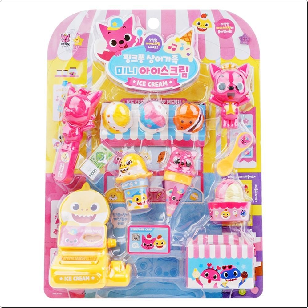 핑크퐁 상어가족 미니 아이스크림 (쌓기놀이)(640778) 캐릭터 캐릭터상품 생활잡화 잡화 유아용품