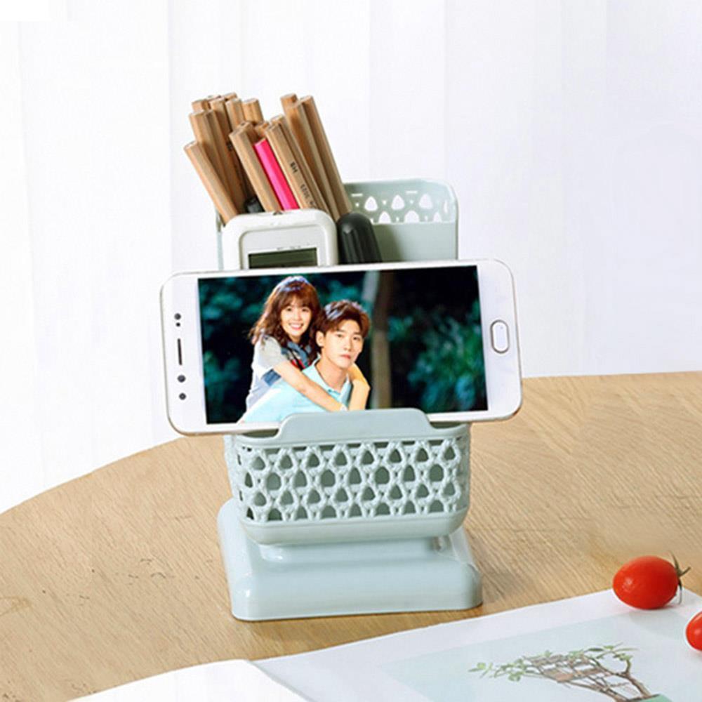 휴대폰거치 연필꽂이 3단 펜꽂이 볼펜꽂이 연필정리함 펜정리함 책상정리 볼펜꽂이 연필꽂이 연필정리함