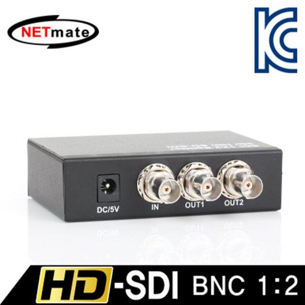 넷메이트 NM-SDS12 HD-SDI 지원 BNC 1대2 분배기 컴퓨터용품 PC용품 컴퓨터악세사리 컴퓨터주변용품 네트워크용품 무선공유기 iptime 와이파이공유기 iptime공유기 유선공유기 인터넷공유기