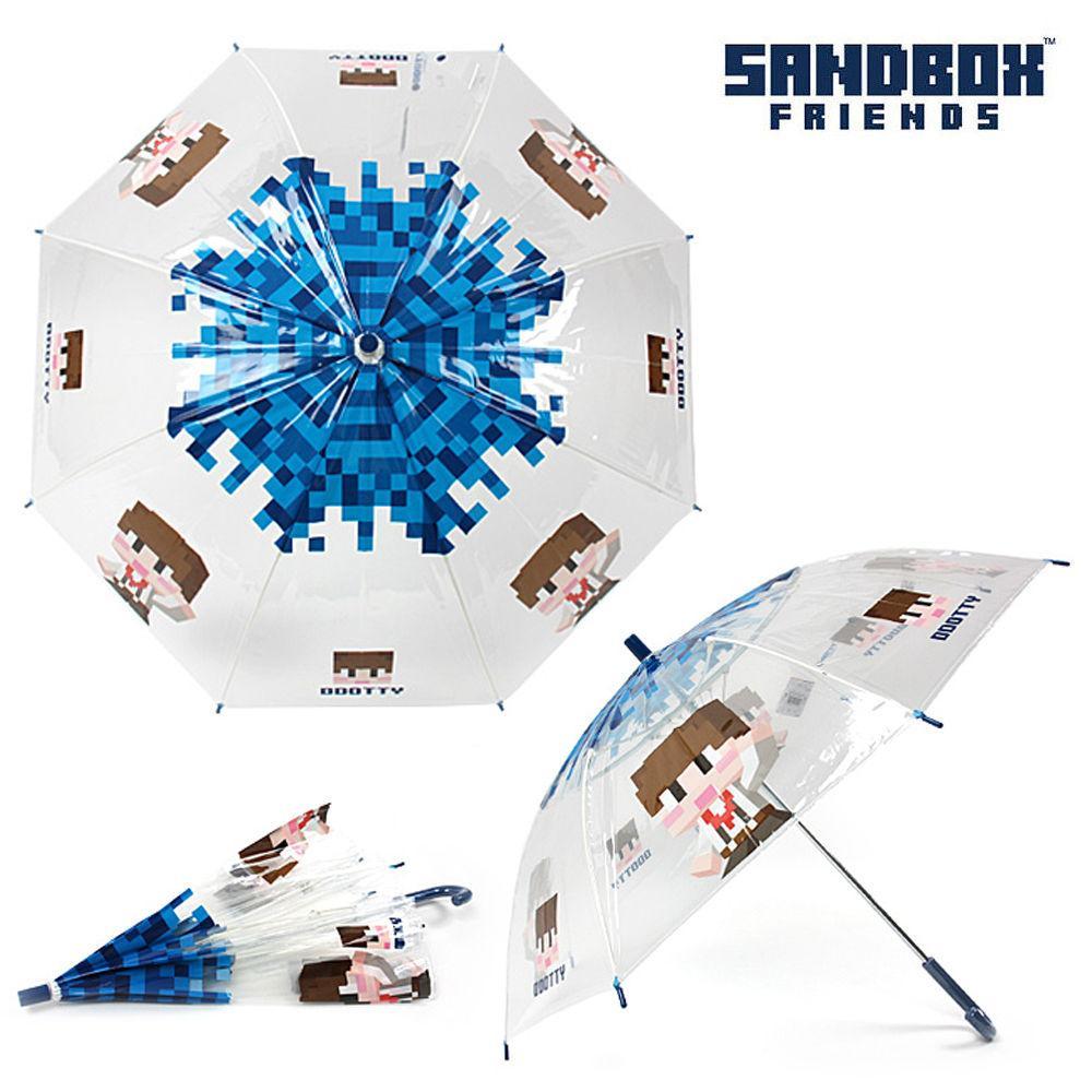 서울트레이딩 샌드박스 하이도티 비닐 장우산 55 (블루) 어린이 우산 아동우산 아동 캐릭터