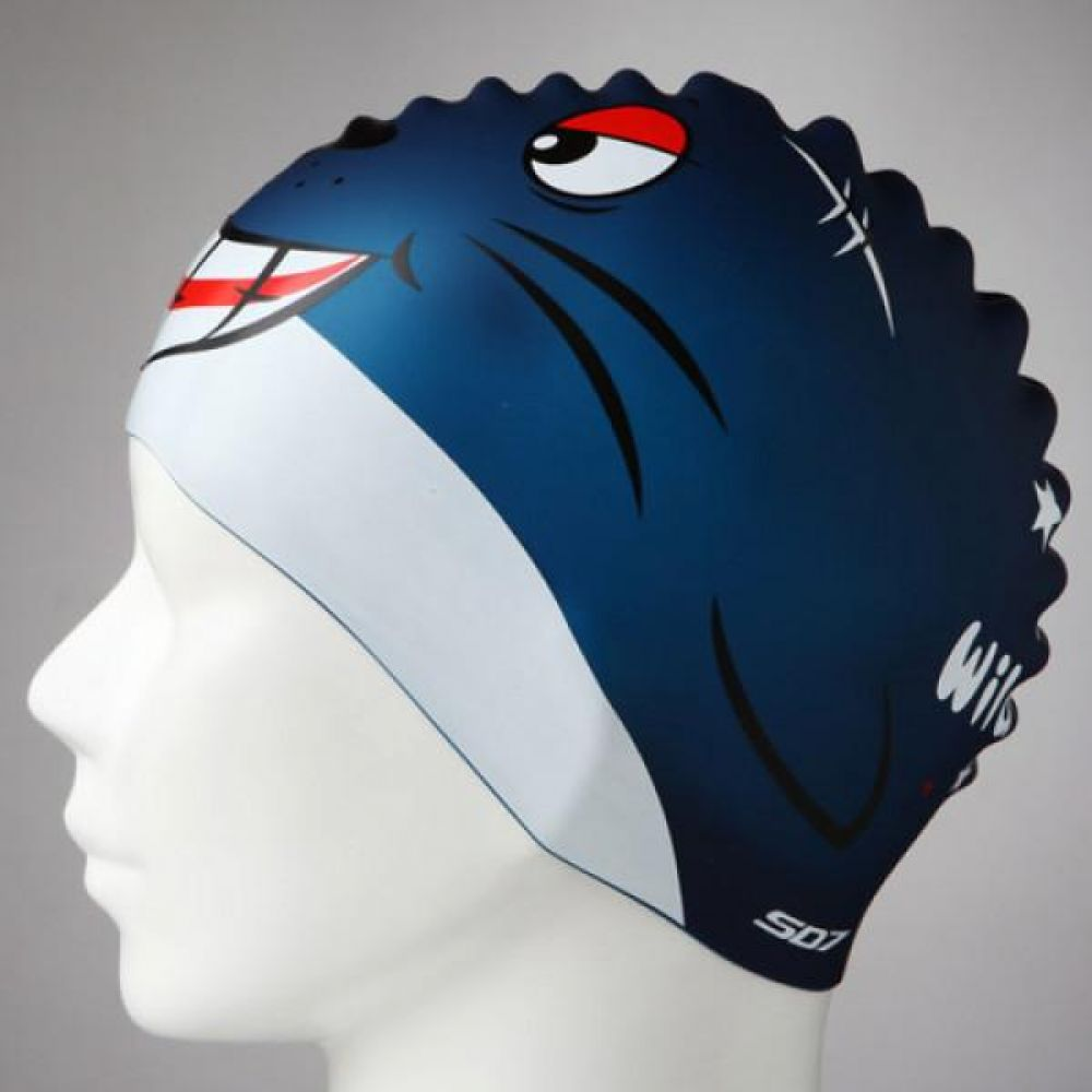 SGL-CA100 수달이 SD7 실리콘수모 좌우대칭 실리콘수모 수영모자 수영용품 수영모 수영수모