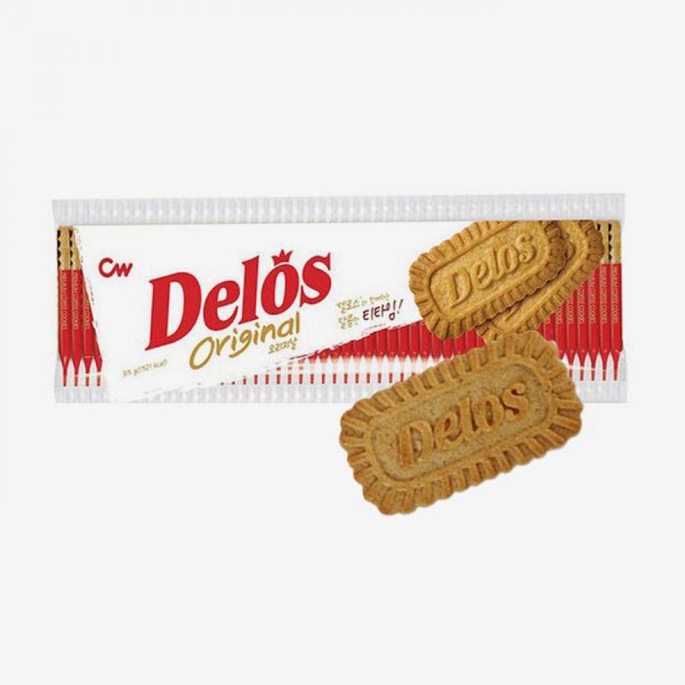 청우 비스켓 델로스 오리지날 315g 1박스 청우식품 간식 주전부리 스낵 과자 캔디 비스켓 델로스