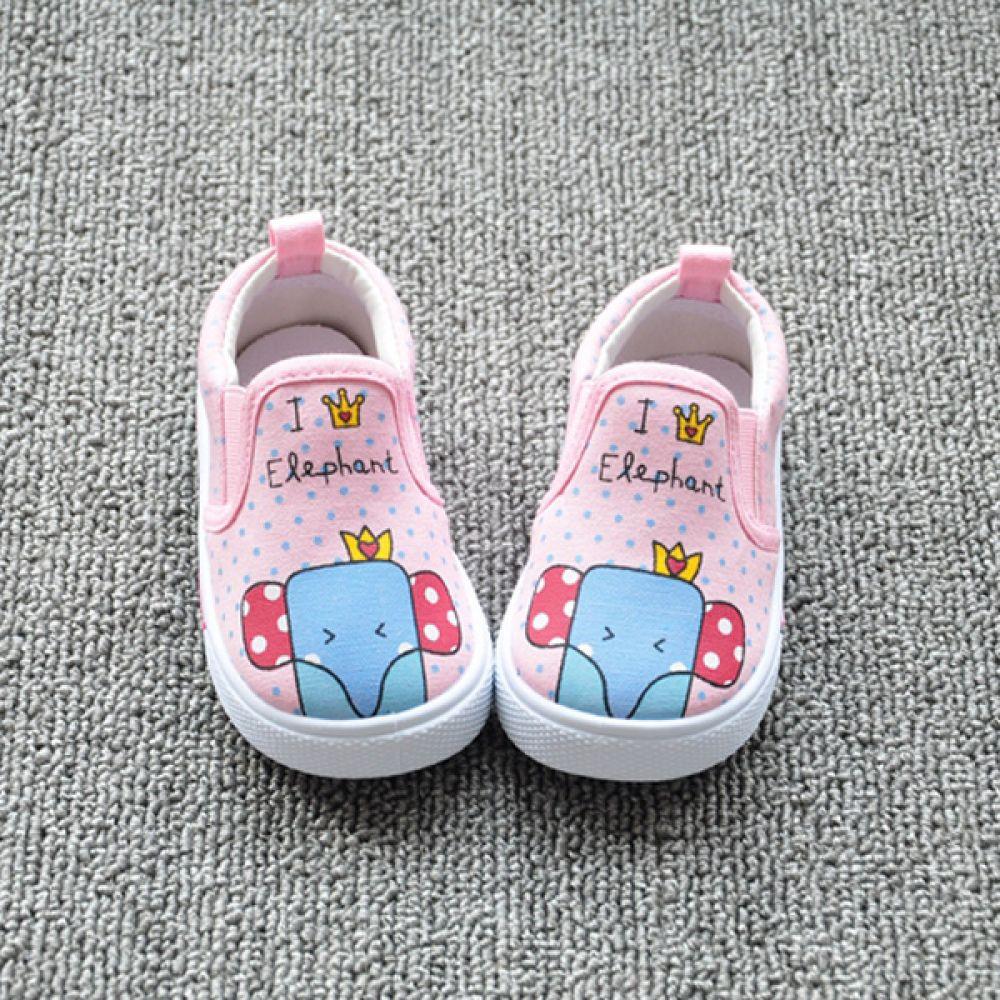 나는 코끼리 왕 유아신발(130-170mm) 900509 아기신발 유아신발 슬립온 걸음마 아동화 베이비신발 삑삑이신발 보행기신발