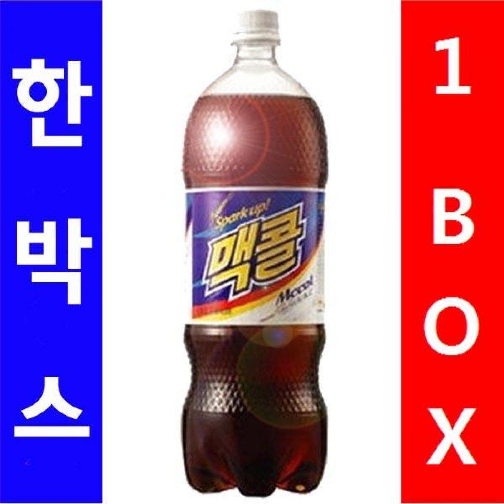 일화)맥콜 1.5L 1박스(12병) 음료 여름 탄산 보리 대량 도매 대량판매 세일 판매