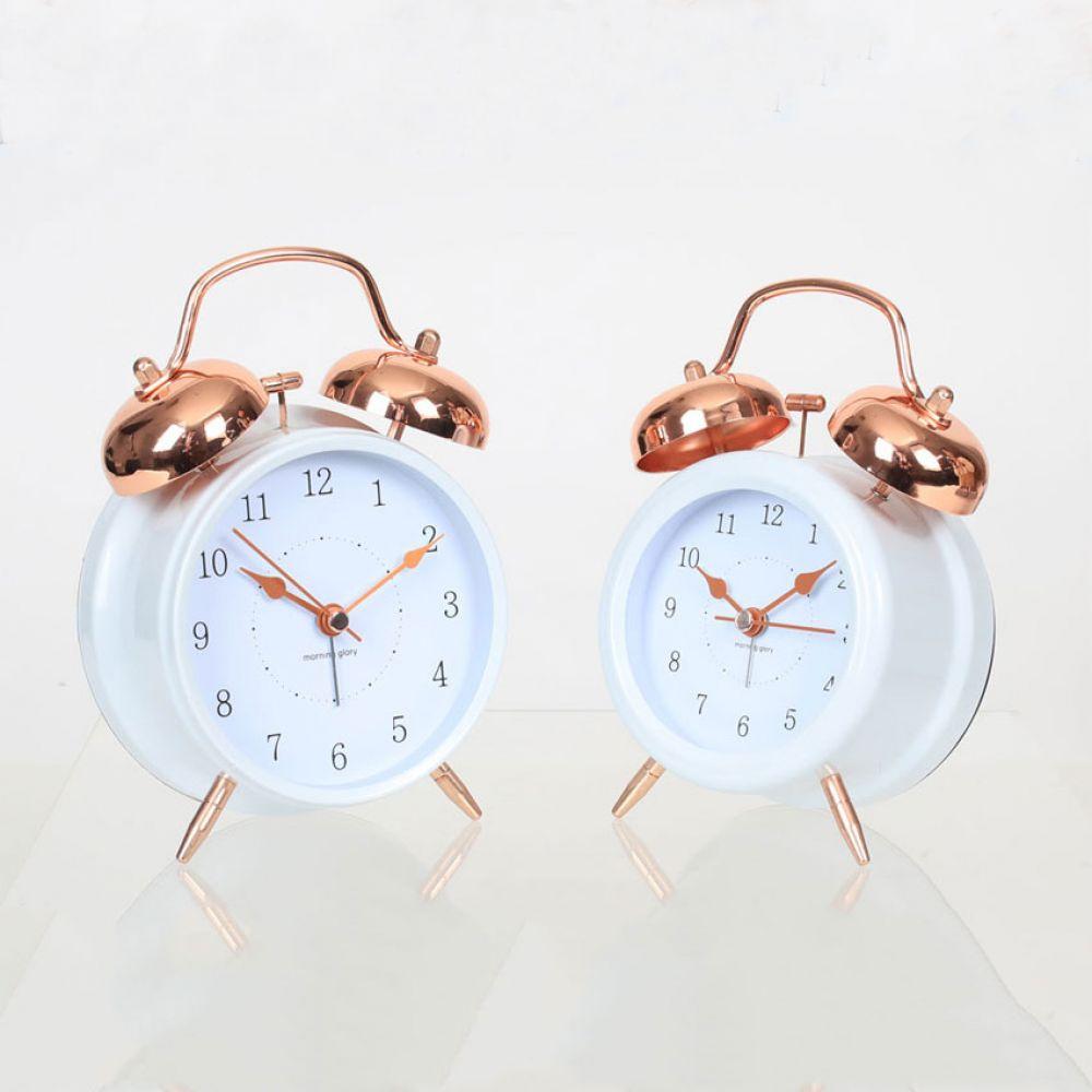 로즈골드 알람시계 탁상시계 알람시계 사무용시계 선물시계 디자인시계 인테리어시계