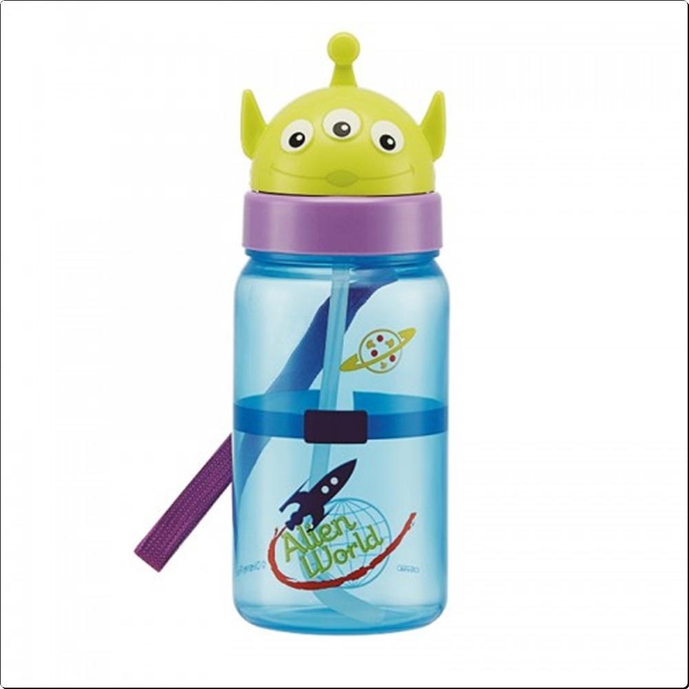 알린 페이스 스트로 보틀 350ml (빨대물통)(386343) 캐릭터 캐릭터상품 생활잡화 잡화 유아용품