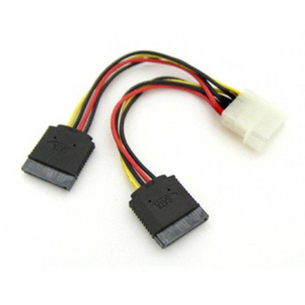 SATA 전원 케이블-IDE - SATA 2구 확장용 컴퓨터용품 PC용품 컴퓨터악세사리 컴퓨터주변용품 네트워크용품 c타입젠더 휴대폰젠더 5핀젠더 케이블 아이폰젠더 변환젠더 5핀변환젠더 usb허브 5핀c타입젠더 옥스케이블