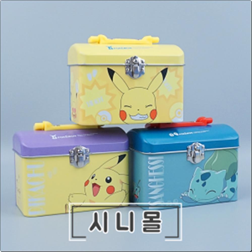 포켓몬 클래식 가방(소) (철제)(시즌3)(랜덤발송) 캐릭터 캐릭터상품 생활잡화 잡화 유아용품