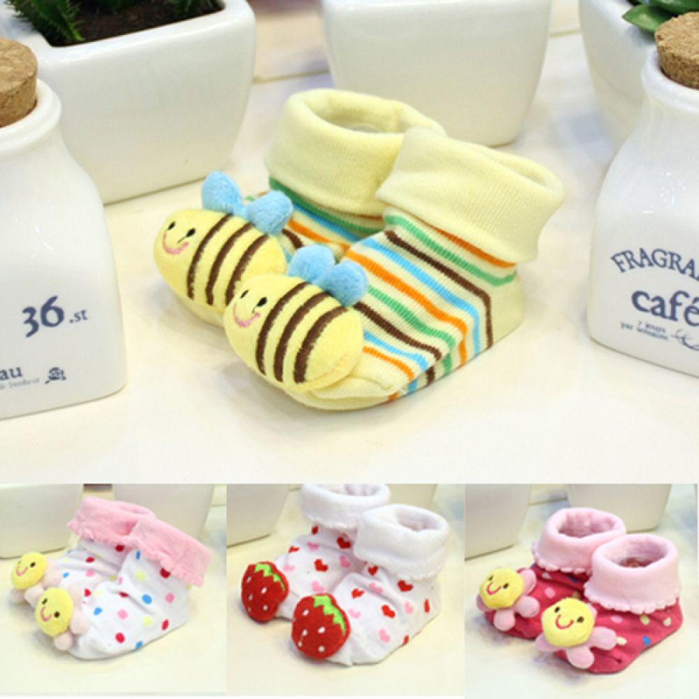 귀여운 캐릭터 아기양말 (7-9cm) 202317 아기양말 유아양말 베이비양말 엠케이 조이멀티