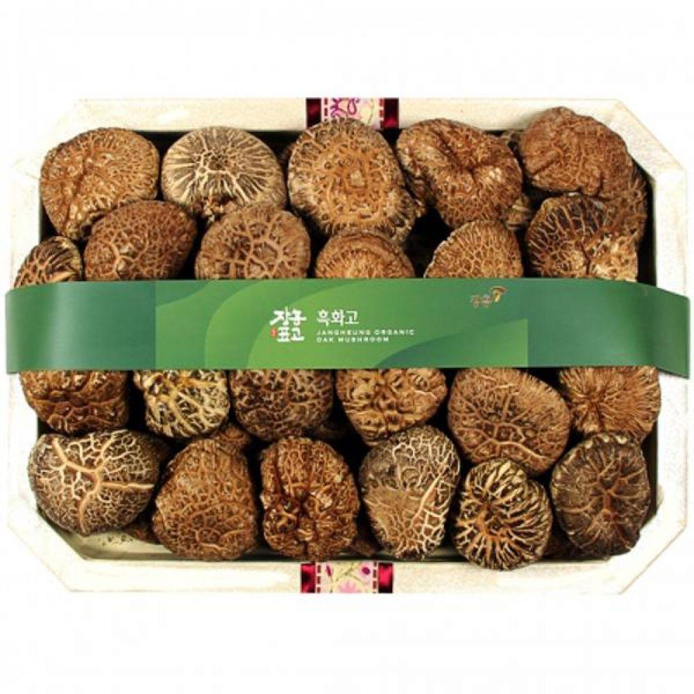 흑화고특호 (중)700g 쇼핑백 보자기포장 식품 농산물 채소 표고버섯 선물세트