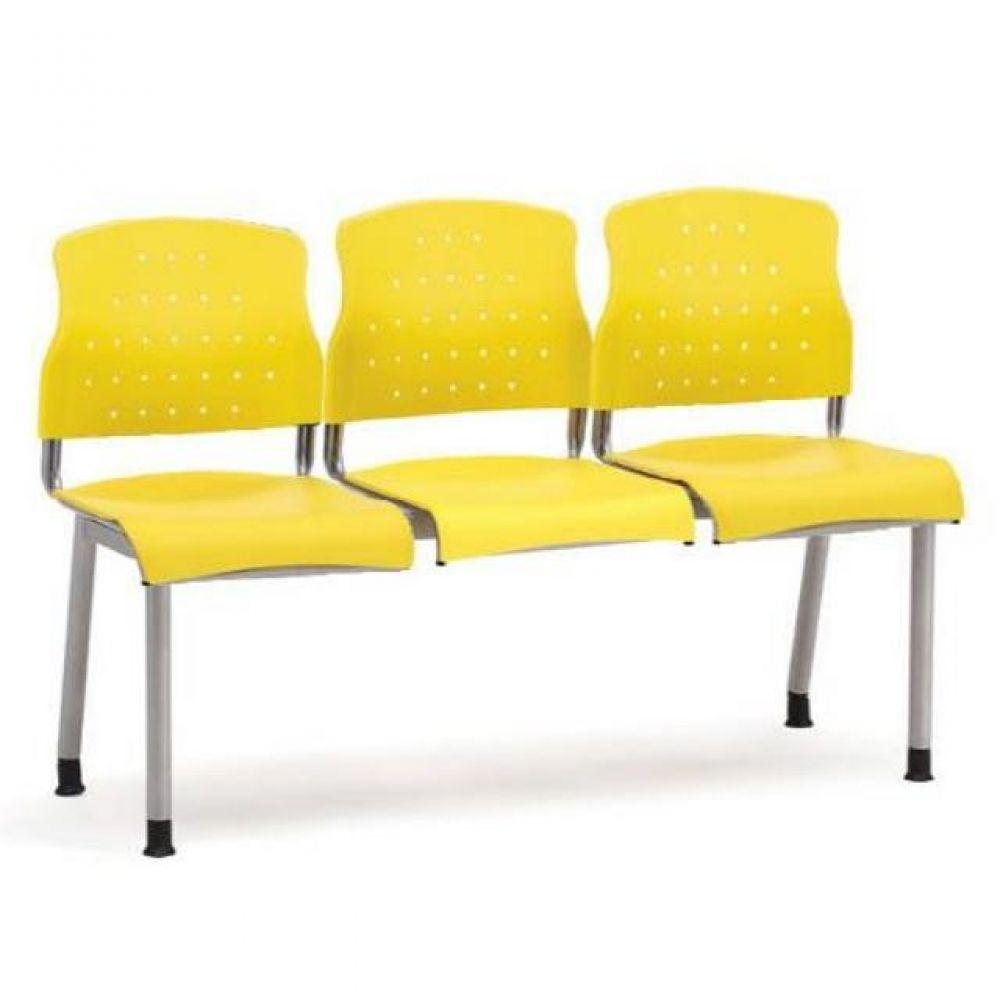 3인용 연결의자 레인보우 팔무(올사출) 635 로비의자 휴게실의자 대기실의자 장의자 3인용의자 2인용의자 약국의자 대합실의자