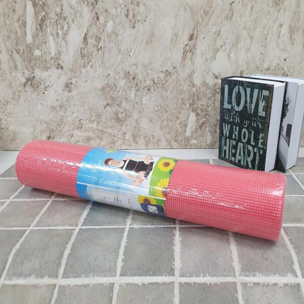 6mm 요가매트 핑크 헬스매트 운동매트 헬스용품 트레이닝매트 요가매트 매트 요가용품 요가