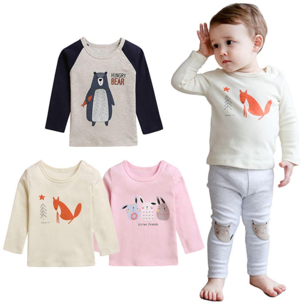 유니크 유아 티셔츠(6-24개월) 203604 유아티셔츠 아기티셔츠 유아티 아기티 유아긴팔티 아기긴팔티 유아긴팔티셔츠 아기긴팔티셔츠