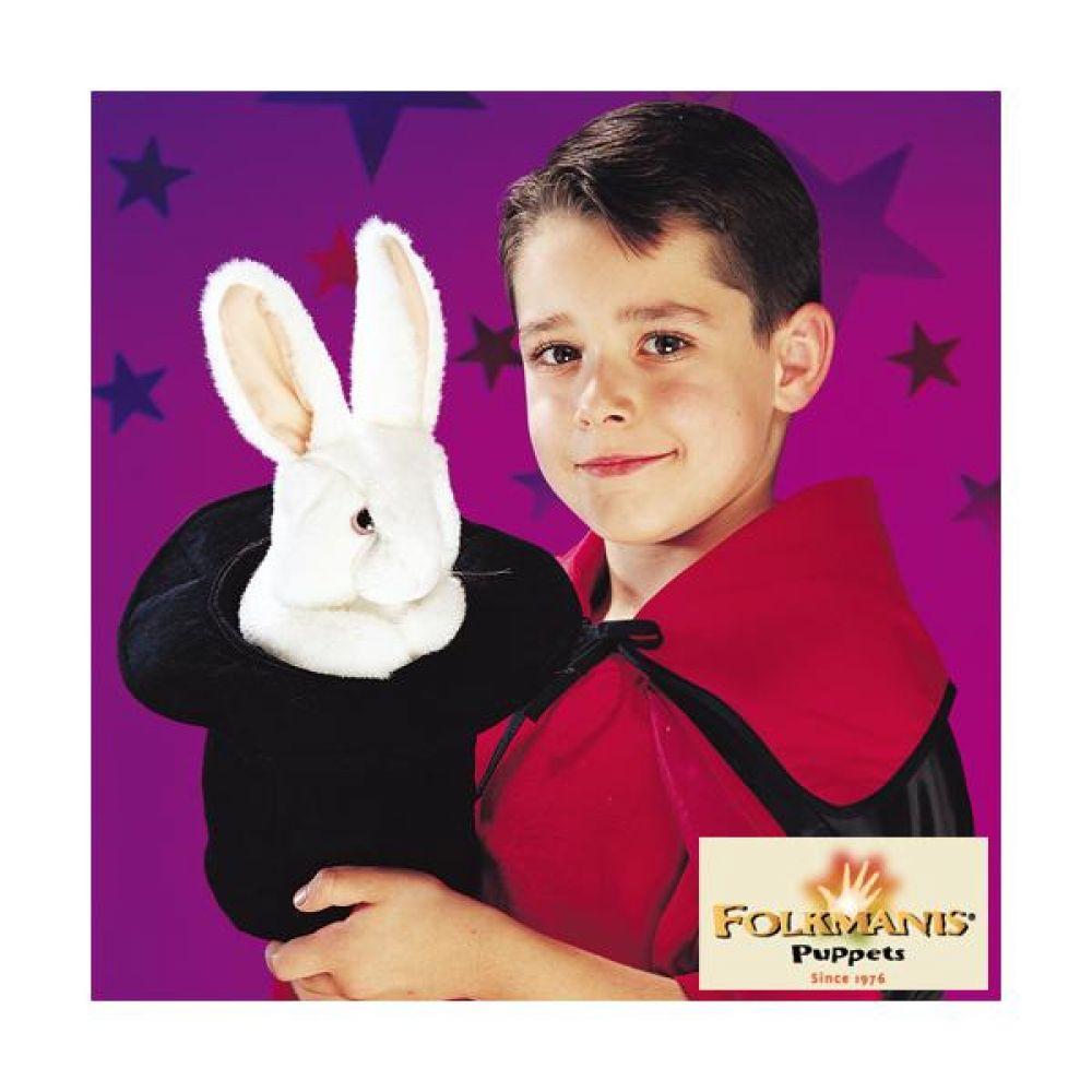 고급 손인형 모자속 토끼 완구 문구 장난감 어린이 캐릭터 학습 교구 교보재 인형 선물