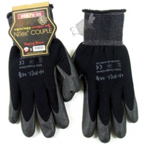 나이텍스 방한용 기모장갑(블랙M)1팩5개 생활용품 잡화 주방용품 생필품 주방잡화