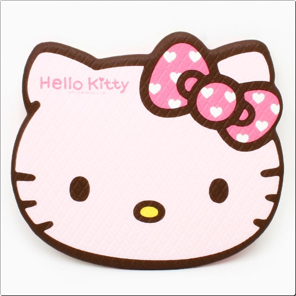 헬로키티 양면 얼굴쿠션매트(쿠키)(071235) 캐릭터 캐릭터상품 생활잡화 잡화 유아용품