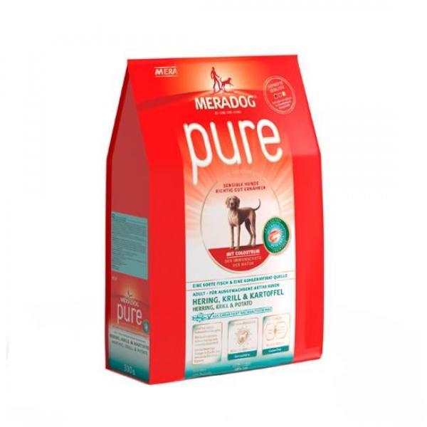 소분 메라독 퓨어 그레인프리(청어n크릴n감자n초유) 1.3kg 애완사료 건강사료 수제사료 애완용품 사료