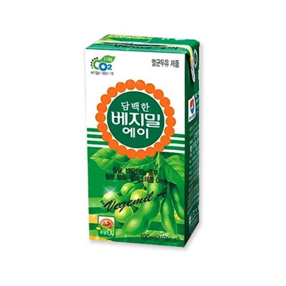 정식품) 베지밀A 190ml x 64팩 음료 음료수도매 음료수 두유 우유