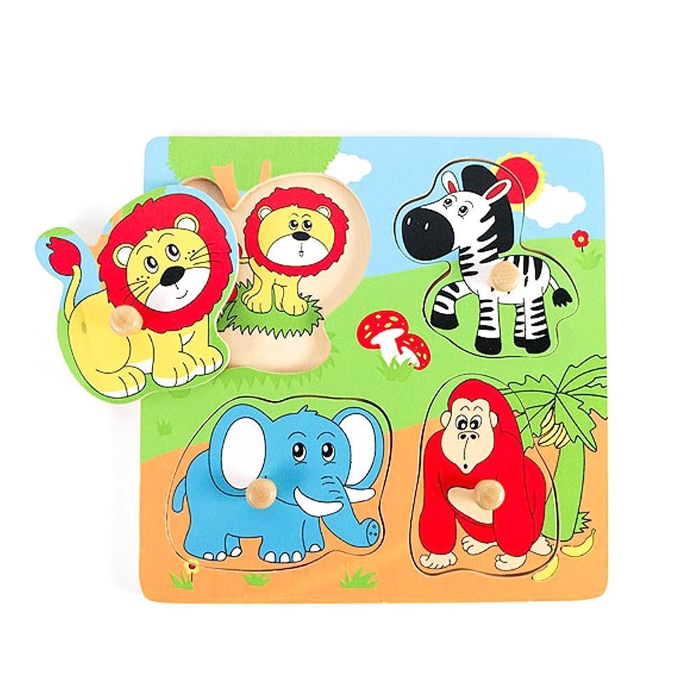 장난감 유아 어린이 놀이 궁금해 퍼즐 야생동물 아이 퍼즐 블록 블럭 장난감 유아블럭