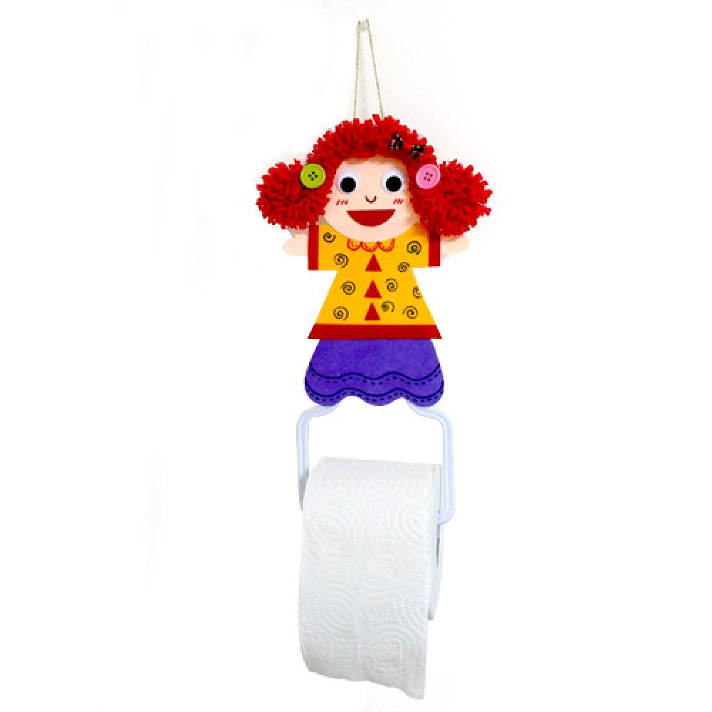 뽀글이인형휴지걸이만들기 사람 인형 장식 휴지걸이 친구 생활용품 뽀글이 뽀글이인형 만들기 만들기대장