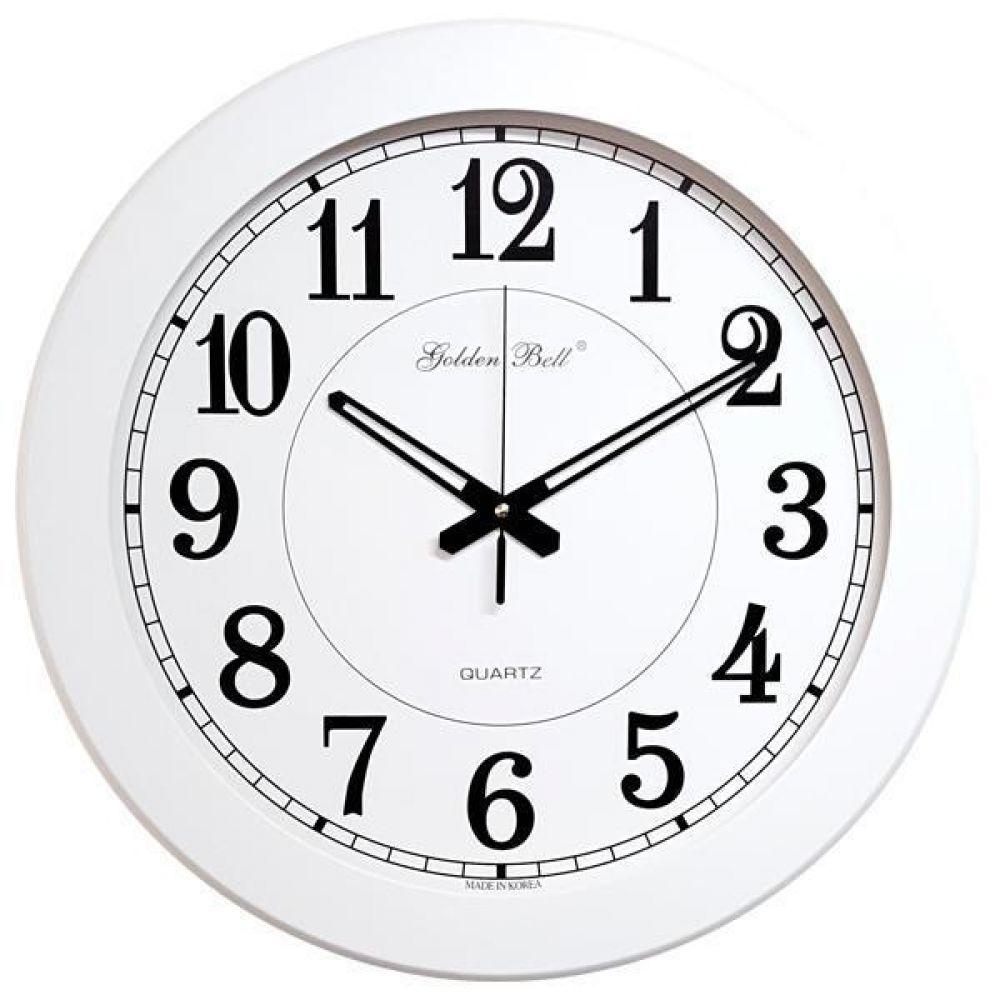 GB4408 대형 벽시계 50cm 화이트 제조한국 벽시계 인테리어시계 원목시계 대형시계 빅사이즈벽시계 공장벽시계