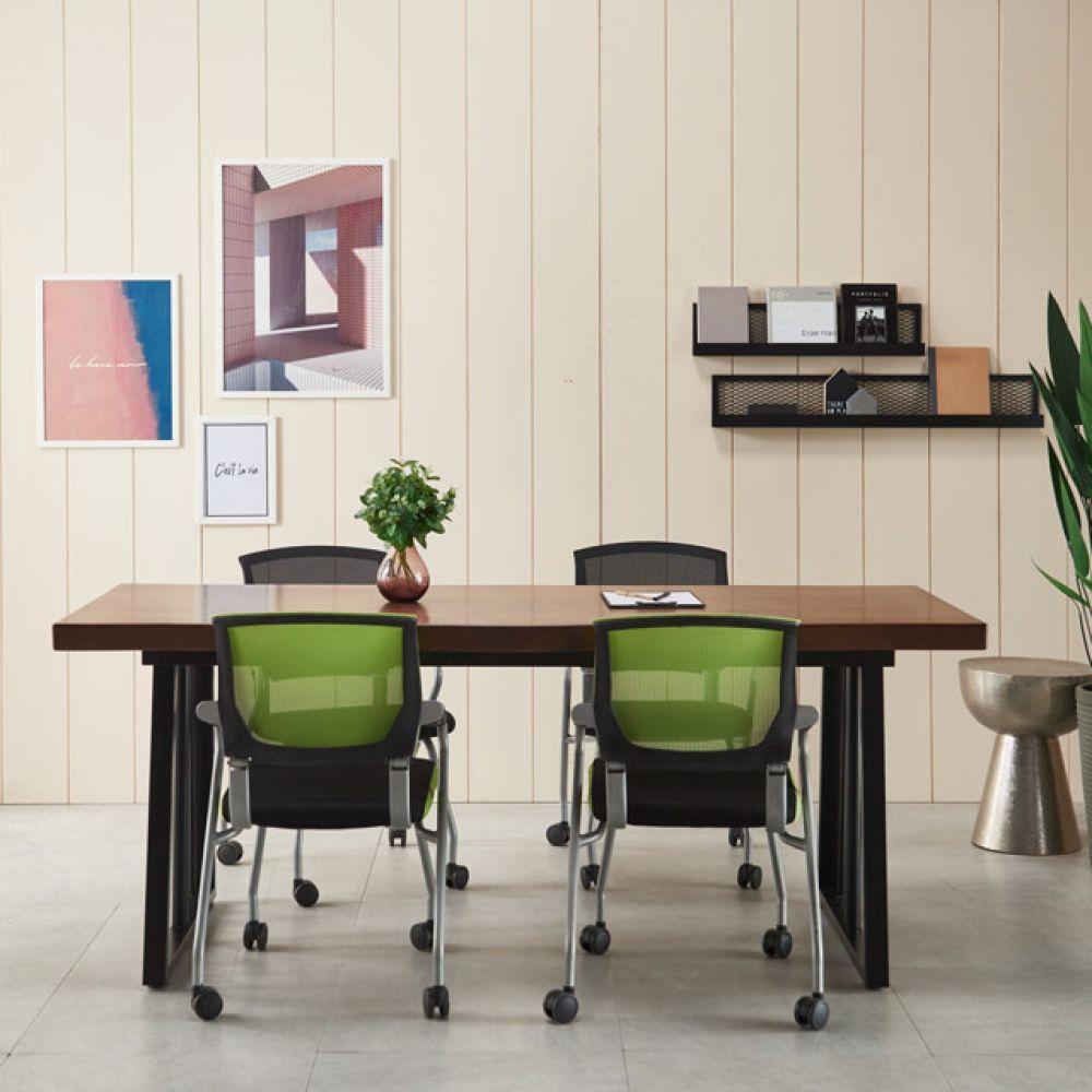 가온 4인테이블 원목테이블 카페테이블 회의용테이블 1600테이블 테이블세트 우드슬랩테이블 원목테이블 테이블 엔틱테이블 철제테이블 6인용테이블 6인테이블 인테리어테이블 카페테이블 다용도테이블 티테이블 회의용테이블 회의테이블 사무실테이블