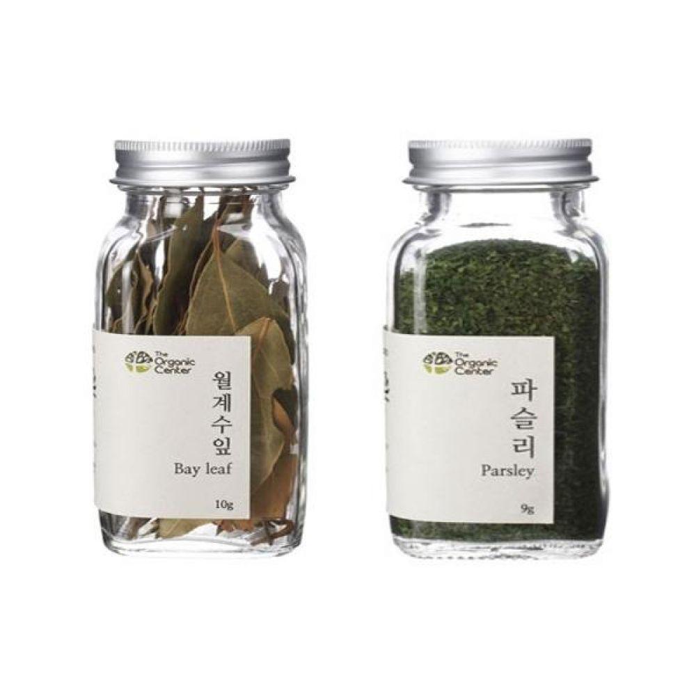(오가닉 향신료 모음)월계수잎 10g과 건파슬리 30g 건강 견과 조미료 냄새 고기