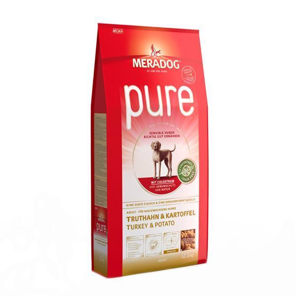메라독 퓨어 그레인프리(칠면조n감자n초유) 12.5kg 애완사료 건강사료 수제사료 애완용품 사료