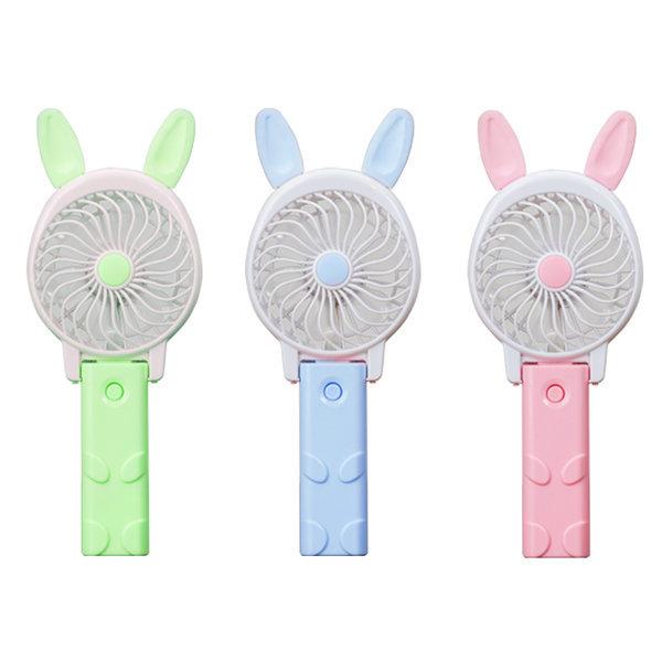 USB 휴대용 미니 핸드 토끼 선풍기 선풍기 손선풍기 미니선풍기 USB선풍기 휴대용선풍기