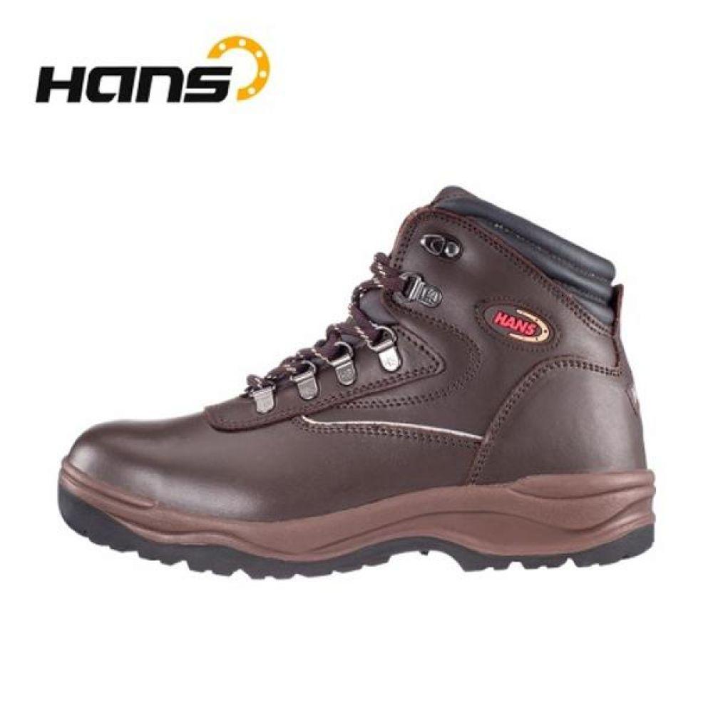 한스 HS-05-2 셀파 (6in) 보통작업용 중단화 안전화 안전화 HANS 한스산업 가죽안전화 지퍼안전화 지퍼타입 작업화 현장화